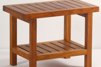 1000x1023px 8 Best Teak Shower Bench Picture in Furniture