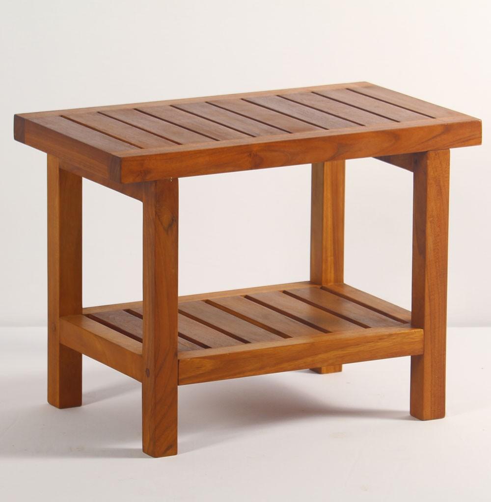 1000x1023px 8 Best Teak Shower Bench Picture in Furniture