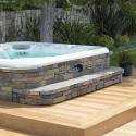 The SpaStone Partial Surround , 6 Nice Hot Tub Surrounds In Bathroom Category