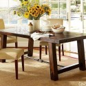 The Wooden Benchwright Extendable Dining Table , 6 Gorgeous Benchwright Extending Dining Table In Dining Room Category