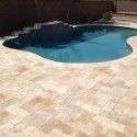 Travertine Pool Deck Design , 7 Hottest Travertine Pool Coping In Others Category