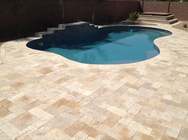 others 7 hottest travertine pool coping travertine pool deck design