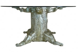 768x768px 7 Fabulous Tree Trunk Dining Table Picture in Furniture