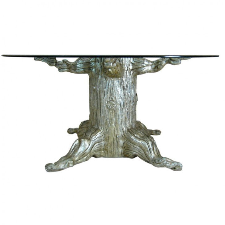 Furniture , 7 Fabulous Tree Trunk Dining Table : Tree Trunk Dining Table