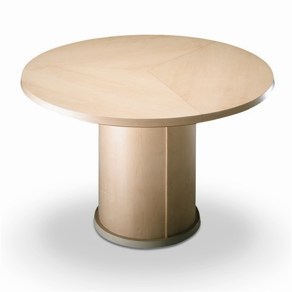 Furniture , 7 Good Expandable Round Dining Room Table : Trendy Expandable Round Dining Table