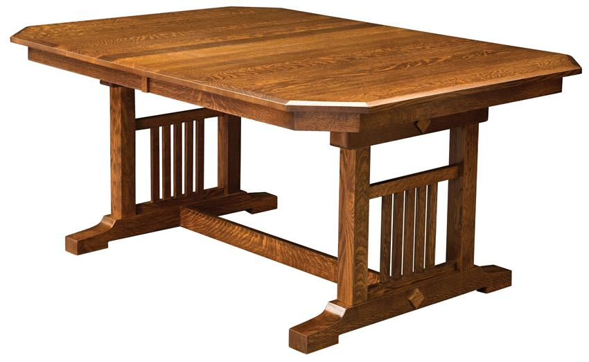 850x522px 6 Ultimate Trestle Table Dining Picture in Furniture