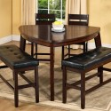 Triangle Dining Table , 7 Awesome Triangle Dining Table With Benches In Dining Room Category
