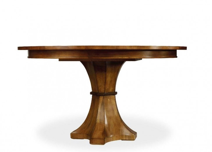 Furniture , 7 Awesome Hooker Dining Tables : Trilogy Pedestal Dining Table