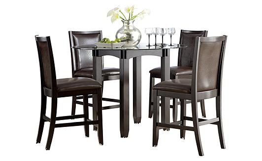532x326px 7 Perfect Trishelle Counter Height Dining Table Picture in Dining Room