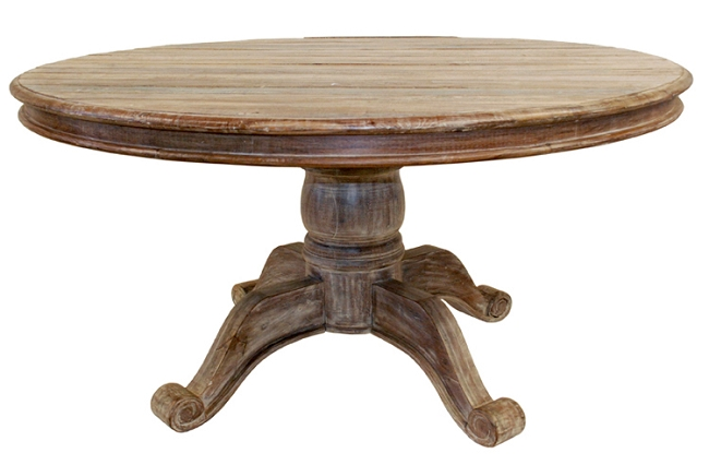 Furniture , 8 Good Reclaimed Wood Dining Table Round : Unique Furnishings Since