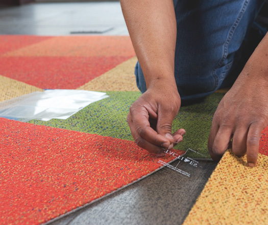 Others , 6 Stunning Carpet Squares Home Depot : Using Adhesive Carpet
