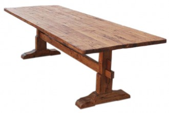 768x768px 8 Fabulous Pine Trestle Dining Table Picture in Furniture