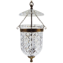 Vintage Waterford Pendant Light Fixture , 7 Gorgeous Bell Jar Lighting In Lightning Category