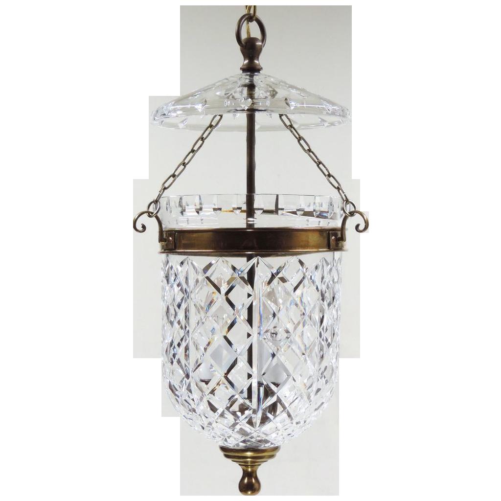 Vintage waterford pendant light fixture 7 gorgeous bell jar lightning 7 gorgeous bell jar lighting vintage waterford pendant light fixture arubaitofo Gallery