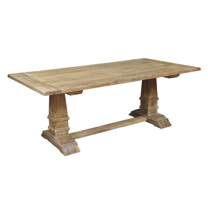 Furniture , 8 Awesome Sienna Dining Table : Weathered Sienna Dining Table