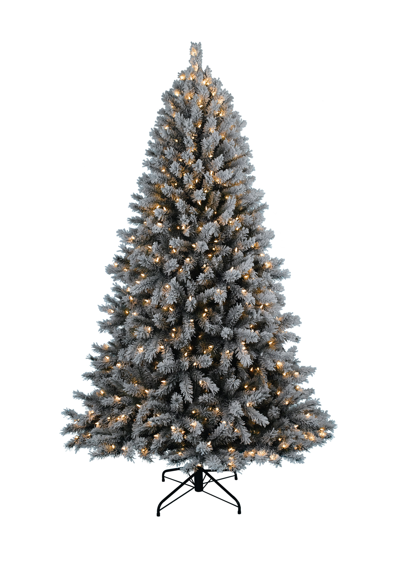 1600x2350px 7 Cool Flocked Christmas Tree Picture in Others