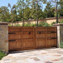 Wood Driveway Gate , 8 Awesome Driveway Gate Designs In Others Category