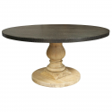 Zinc Top Table , 7 Popular Zinc Top Dining Table In Furniture Category