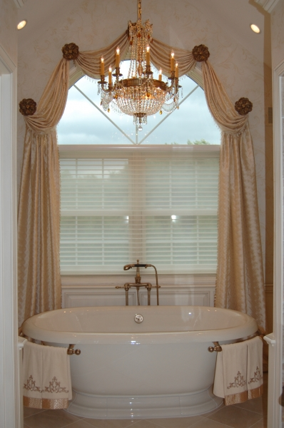 Interior Design , 7 Excellent Window Treatments For Arched Windows : arched window treatment