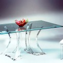 atlas dining table , 6 Unique Clear Acrylic Dining Table In Living Room Category