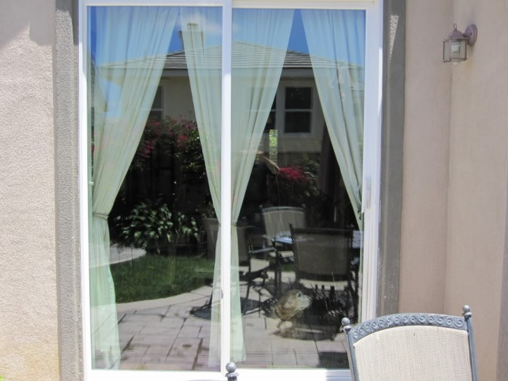 Others , 6 Gorgeous Window Treatment For Sliding Glass Door :  automatic sliding door