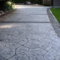 backyard design , 7 Awesome Stamped Concrete Driveways In Others Category