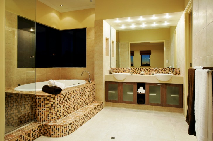 Bathroom , 7 Popular Interior Design Ideas For Bathrooms : bathroom design