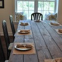 beautiful Dining Table , 6 Fabulous Diy Farmhouse Dining Table In Dining Room Category