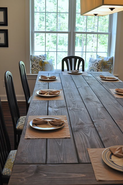 Dining Room , 6 Fabulous Diy Farmhouse Dining Table : beautiful Dining Table