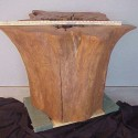 cocktail table , 7 Amazing Tree Stump Dining Table In Furniture Category