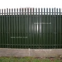 corrugated metal roofing , 7 Unique Corrugated Metal Fence In Others Category