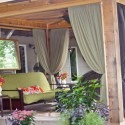 curtain design , 8 Outstanding Pergola Curtains In Homes Category