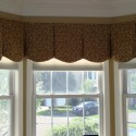 curtain rods for bay windows , 6 Stunning Valances For Bay Windows In Interior Design Category