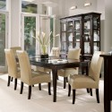 dining room furniture , 7 Awesome Glass Topped Dining Tables In Dining Room Category