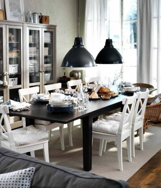 Dining Room , 7 Awesome Ikea Usa Dining Table : dining room oak dining
