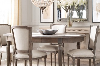 605x590px 7 Cool Restoration Hardware Dining Room Tables Picture in Dining Room
