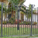 fence designs , 6 Charming Rod Iron Fence In Others Category