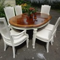 french provincial dining table , 8 Stunning French Provincial Dining Table And Chairs In Dining Room Category