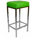 funky square green , 7 Fabulous Funky Bar Stools In Furniture Category
