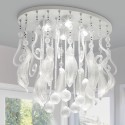 glass crystal chandelier , 8 Fabulous Murano Glass Chandelier In Lightning Category