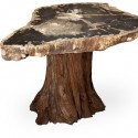 hardwood tree stump , 7 Amazing Tree Stump Dining Table In Furniture Category