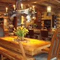 Kitchen , 5 Best Log Cabin Interior Design Ideas :  interior home design ideas