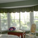 kitchen bay window , 6 Stunning Valances For Bay Windows In Interior Design Category