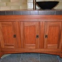 kitchen cabinets , 6 Awesome Mission Style Bathroom Vanity In Furniture Category