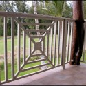 lanai railing balister designs , 8 Stunning Porch Railing Designs In Homes Category