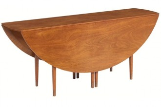 600x600px 8 Unique Oval Drop Leaf Dining Table Picture in Furniture