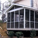 living room design ideas , 8 Stunning Screened Porch Ideas In Homes Category