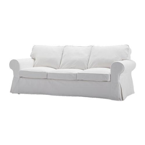 Furniture , 7 Good White Slipcovered Sofa :  living room furniture