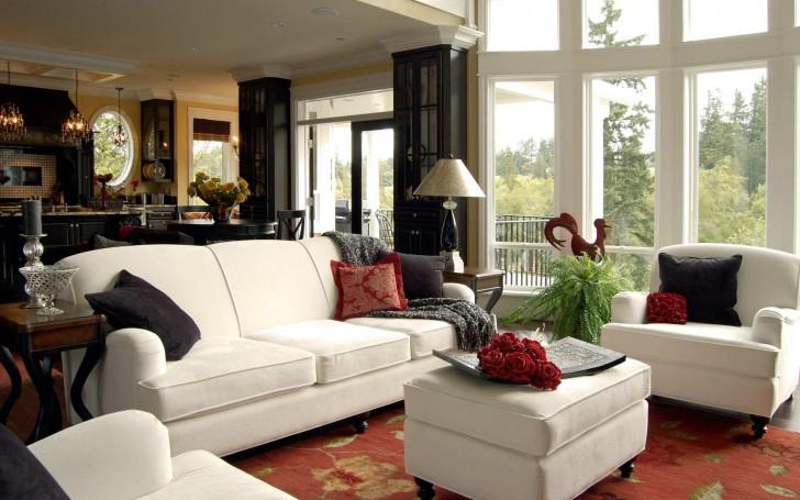 Living Room , 8 Top Interior Designer Ideas For Living Rooms : living room interior design ideas