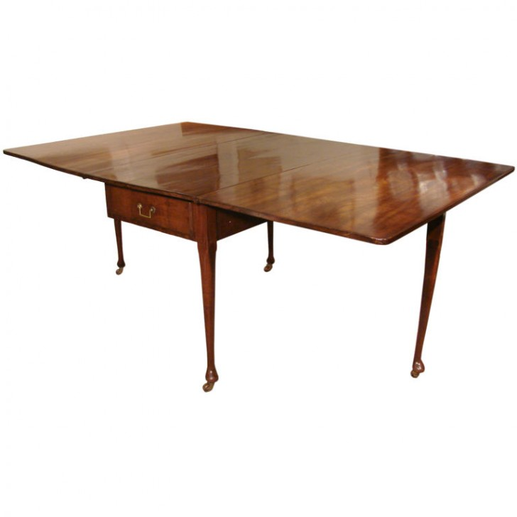 Furniture , 7 Awesome Mahogany Drop Leaf Dining Table : mahogany drop leaf dining table